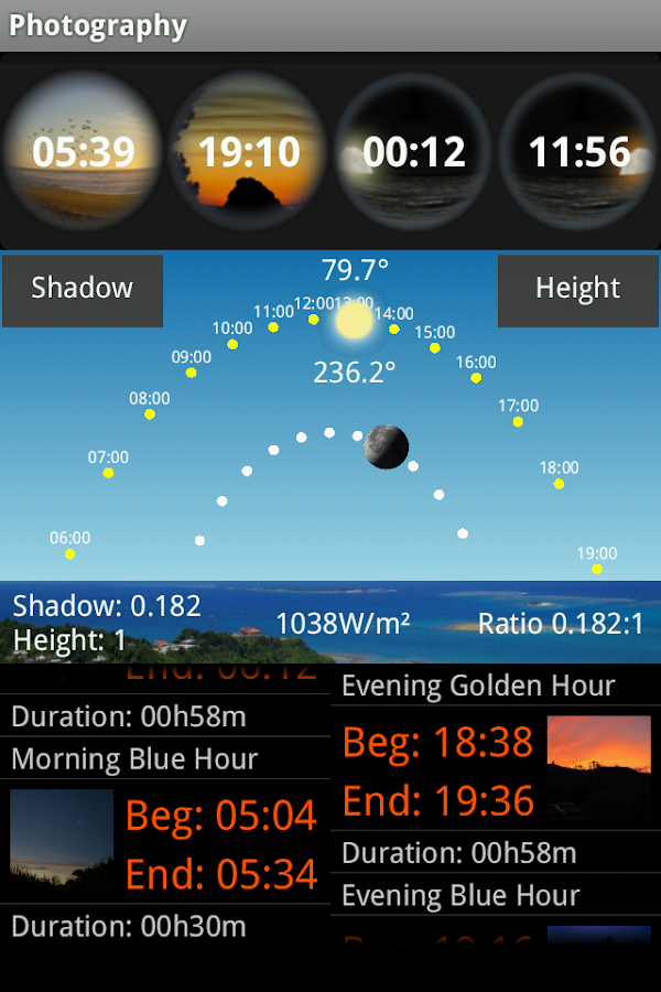 Solunar- screenshot