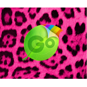 Go Keyboard Pink Cheetah Theme