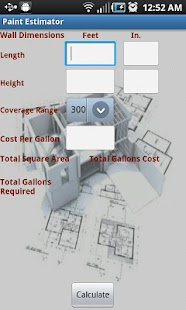 Construction Calculator- screenshot thumbnail