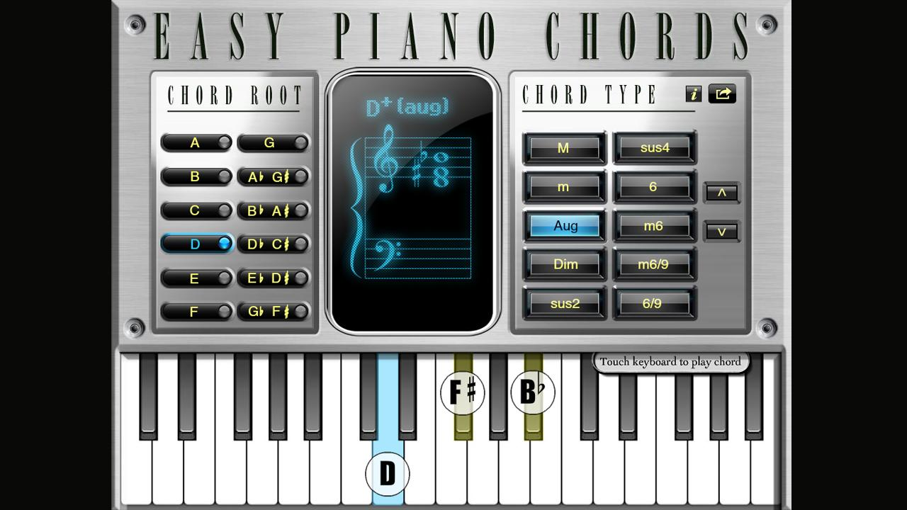 Easy piano chords android apps on google play easy piano chords screenshot hexwebz Gallery