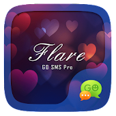 (FREE) GO SMS PRO FLARE THEME