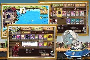 Screenshot of 9히어로즈 디펜스