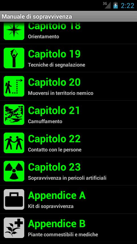 Manuale di Sopravvivenza - screenshot