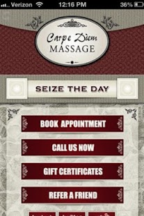Carpe Diem Massage- screenshot thumbnail