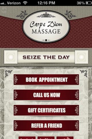 sex masseage carpe diem massage therapy