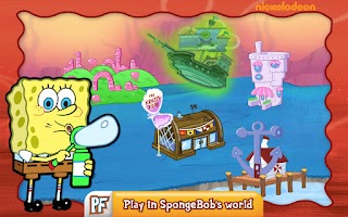 Screenshot of SpongeBob Diner Dash