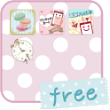 Cute&Girly folder *girls* free icon