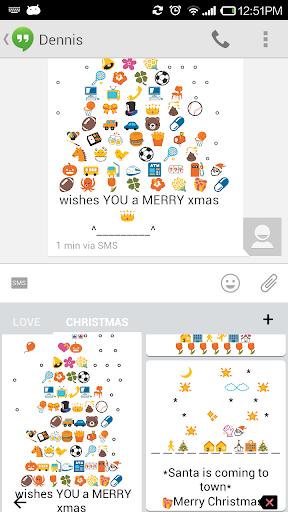 Christmas Art - Emoji Keyboard