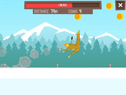 Giraffe Winter Sport Simulator - screenshot thumbnail