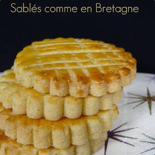 Breton Shortbread Cookies.