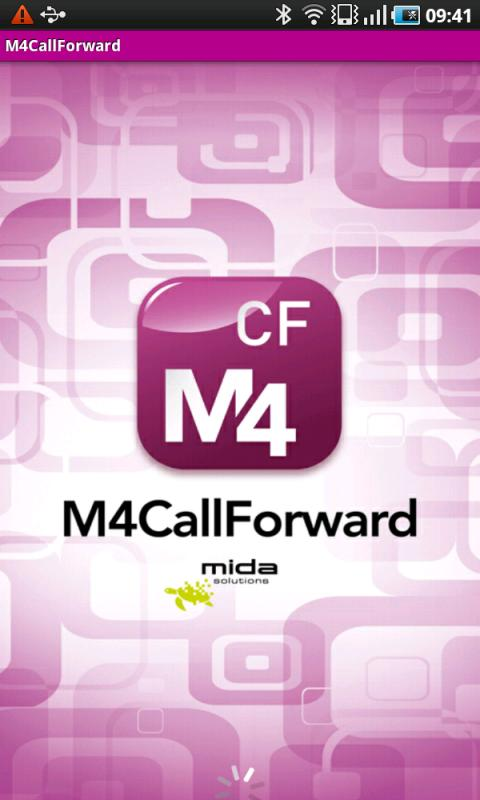M4CallForward- screenshot