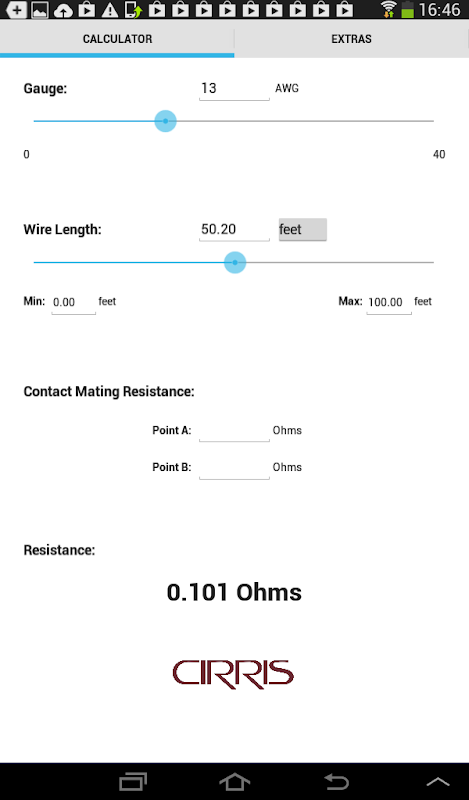Wire resistance calculator apk latest version download free tools wire resistance calculator poster wire resistance calculator poster greentooth Images