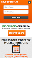 Screenshot of Equipsport