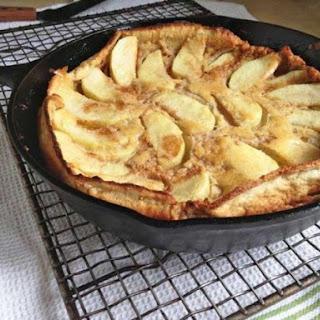 Gluten-Free Dutch Apple Pancake.