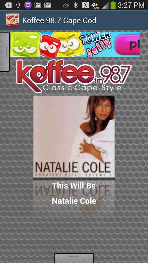 Koffee 98.7 Cape Cod - screenshot