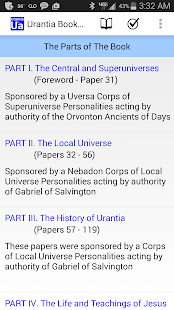 Urantia Book Access- screenshot thumbnail