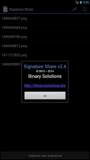 【免費商業App】Signature Share-APP點子