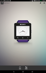 Xperia Alarm watchface for SW2 - screenshot thumbnail