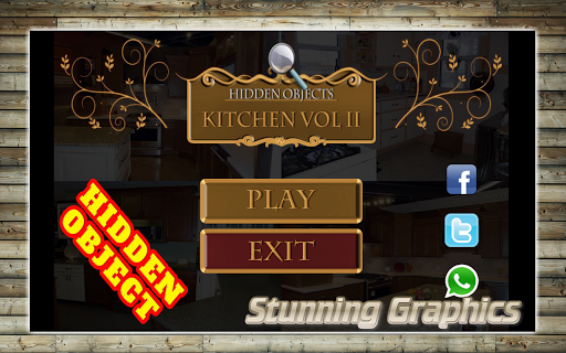 隱藏的對象 - 廚房遊戲2