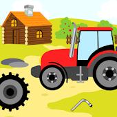Animales de granja - Niños