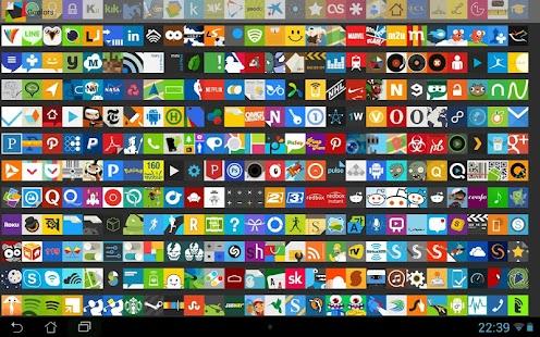 Goolors Square - icon pack - screenshot thumbnail