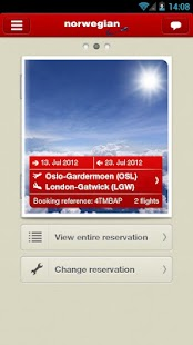 Norwegian Travel Assistant - screenshot thumbnail
