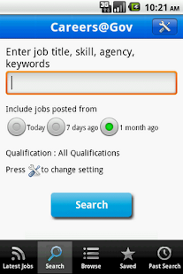 Careers@Gov - screenshot thumbnail