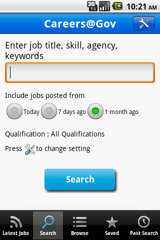 Careers@Gov - screenshot
