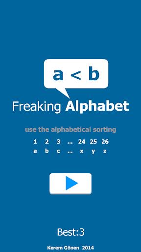 Freaking Alphabet
