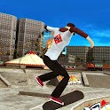 Real skateboard (3D) icon