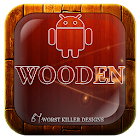 wooden Go,Nova,Adw,Holo,Apex icon