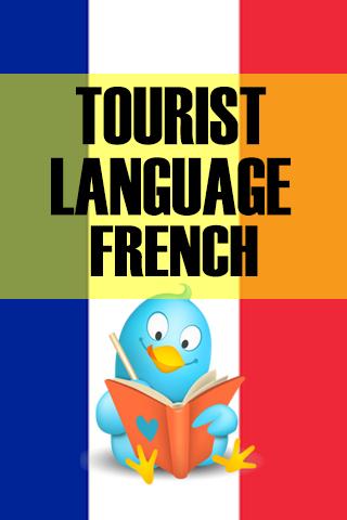 Tourist language French