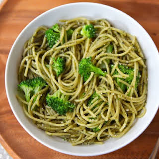 Broccoli Pesto Pasta.