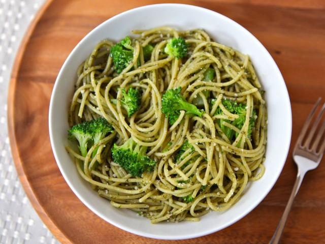 Broccoli Pesto Pasta Recipe