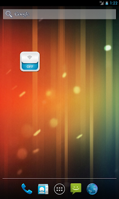 WIFI Tethering Toggle Widget - screenshot