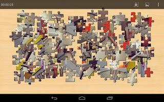 Screenshot of Transportation Jigsaw Puzzles