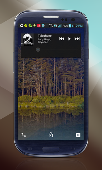 Lollipop Lockscreen Android L - screenshot