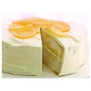 Luscious Lemon Poke Cake.