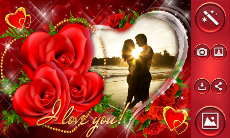 Love You Photo Frames - Android Apps on Google Play