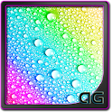 Pop Water Drops Parallax LWP icon