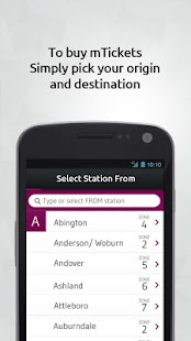 MBTA mTicket - screenshot thumbnail
