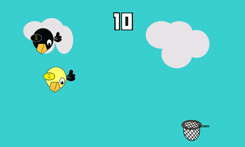 Beaky bird- screenshot