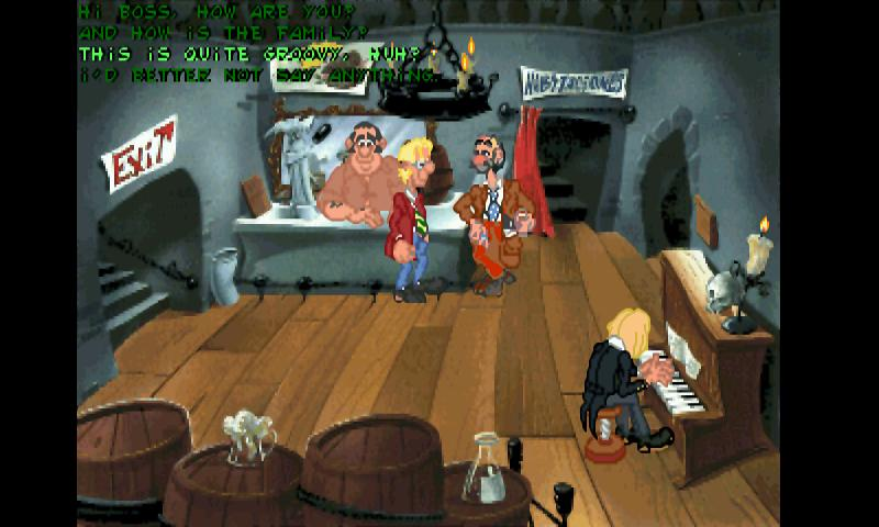 ScummVM plugin: drascula - screenshot