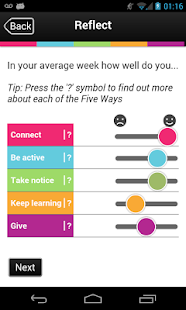 Five Ways to Wellbeing- screenshot thumbnail
