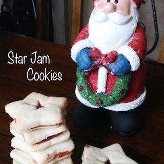 Star Jam Cookies