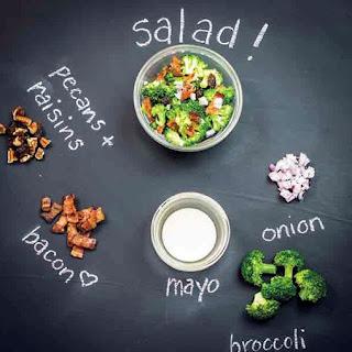 Sweet and Salty Broccoli Salad