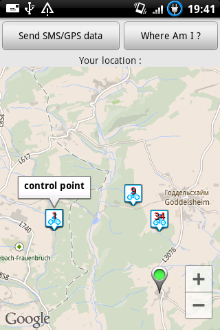 Randonneuring Map
