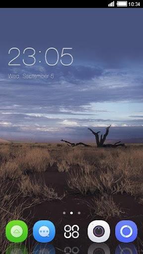 '荒野'手機主題——暢遊桌面