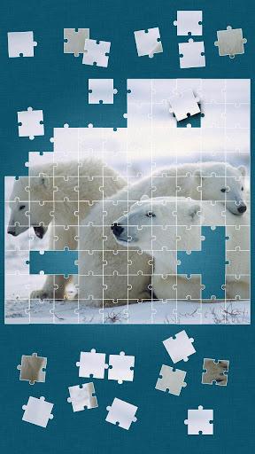 野生生物 ジグソーパズル ゲーム