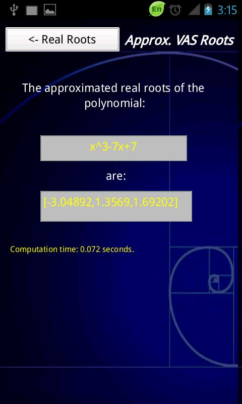 RealRoots - screenshot